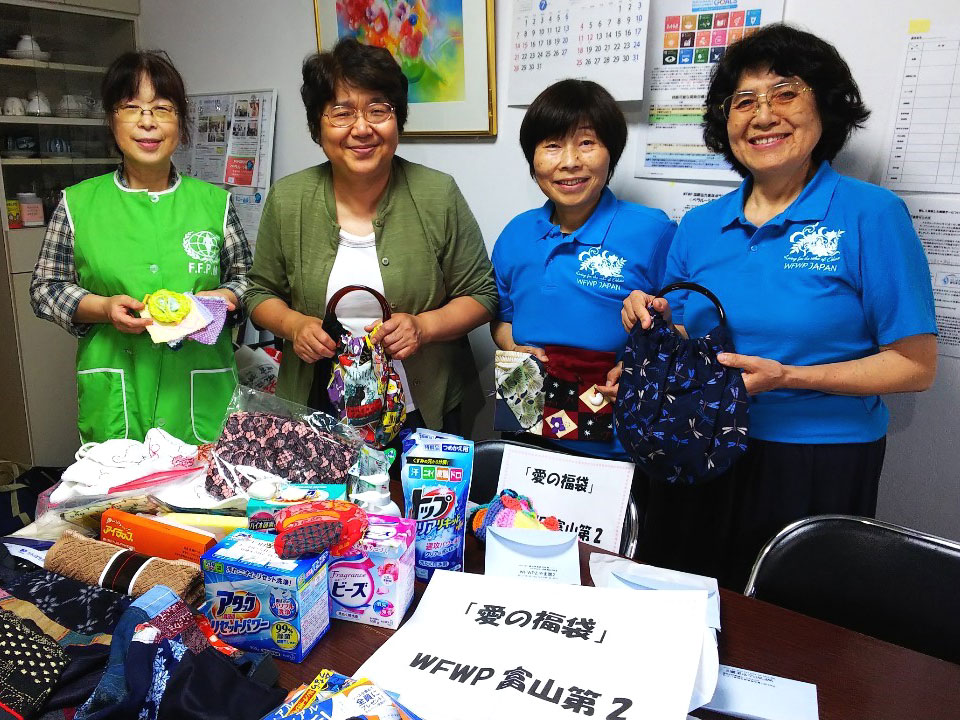 世界平和女性連合(WFWP)被災地支援