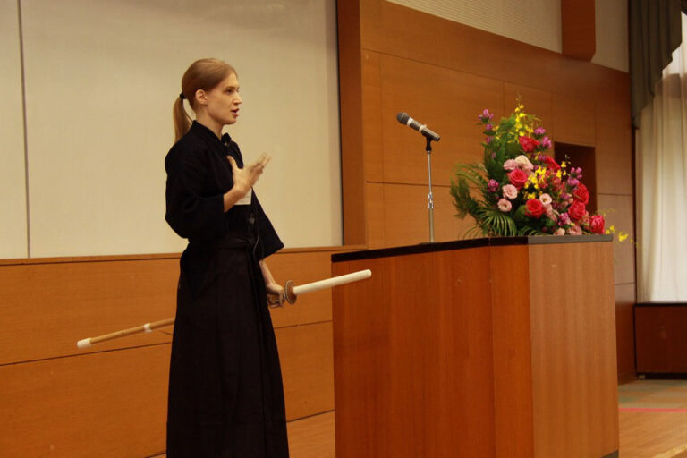 世界平和女性連合(WFWP)留学生日本語弁論大会