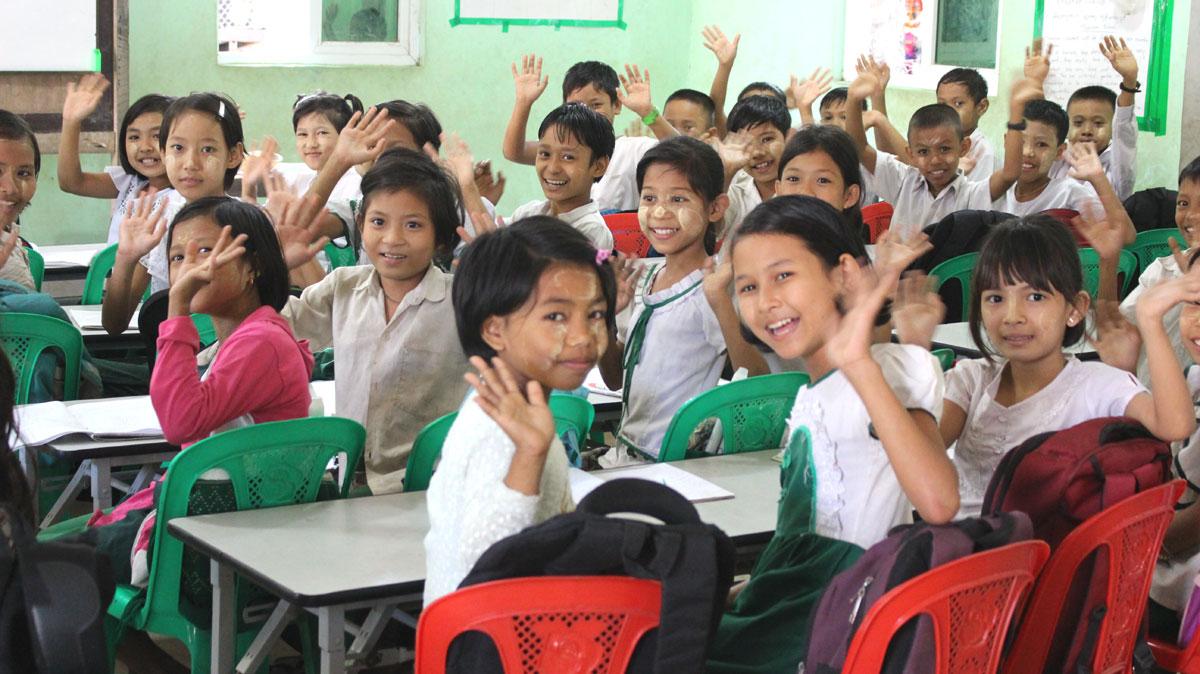 世界平和女性連合(WFWP)ミャンマー