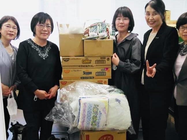 WFWP世界平和女性連合-物資支援