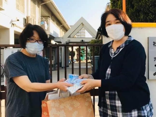 WFWP世界平和女性連合-手作りマスク