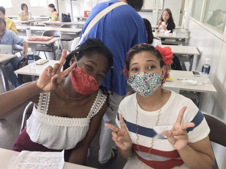 WFWP女子留学生日本語弁論大会2020京都大会に参加した留学生