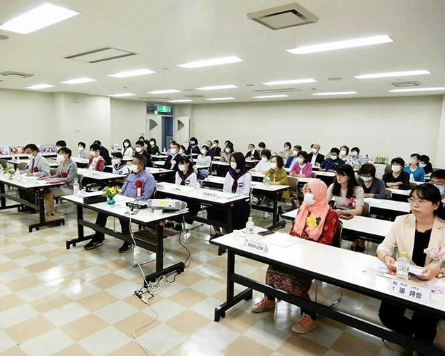 2020世界平和女性連合WFWP留学生日本語弁論大会青森県大会聴衆の様子
