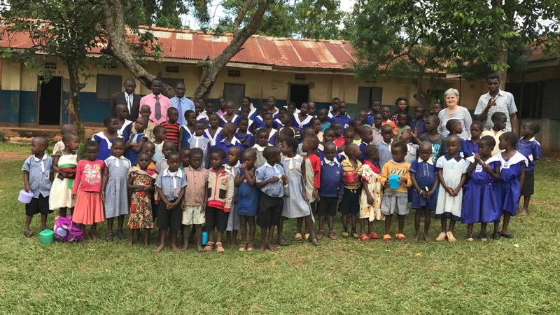 世界平和女性連合(WFWP)ウガンダでの活動の様子