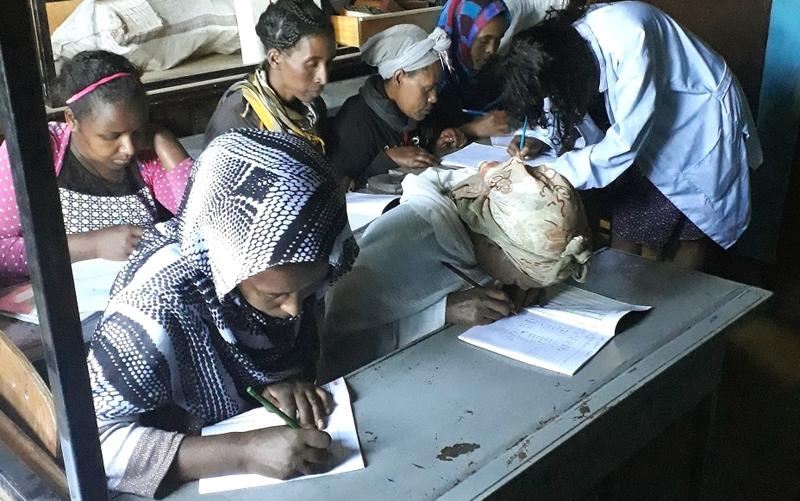 世界平和女性連合(WFWP)エチオピアでの活動の様子