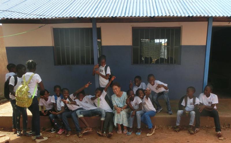 世界平和女性連合(WFWP)ギニアビサウでの活動の様子