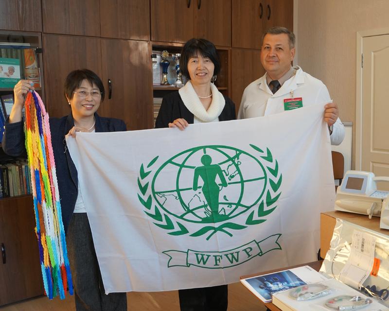 世界平和女性連合(WFWP)ベラルーシでの活動の様子