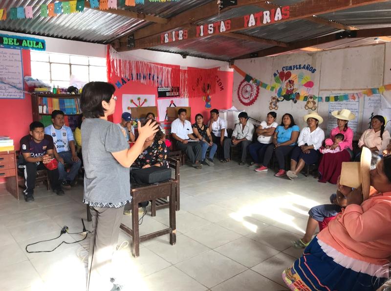 世界平和女性連合(WFWP)ペルーでの活動の様子