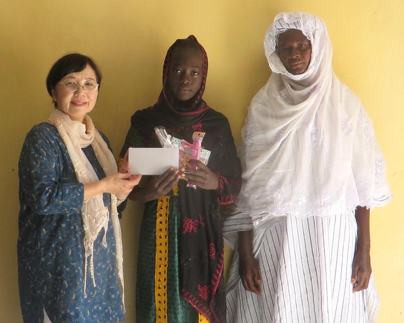 世界平和女性連合(WFWP)モーリタニアでの活動の様子