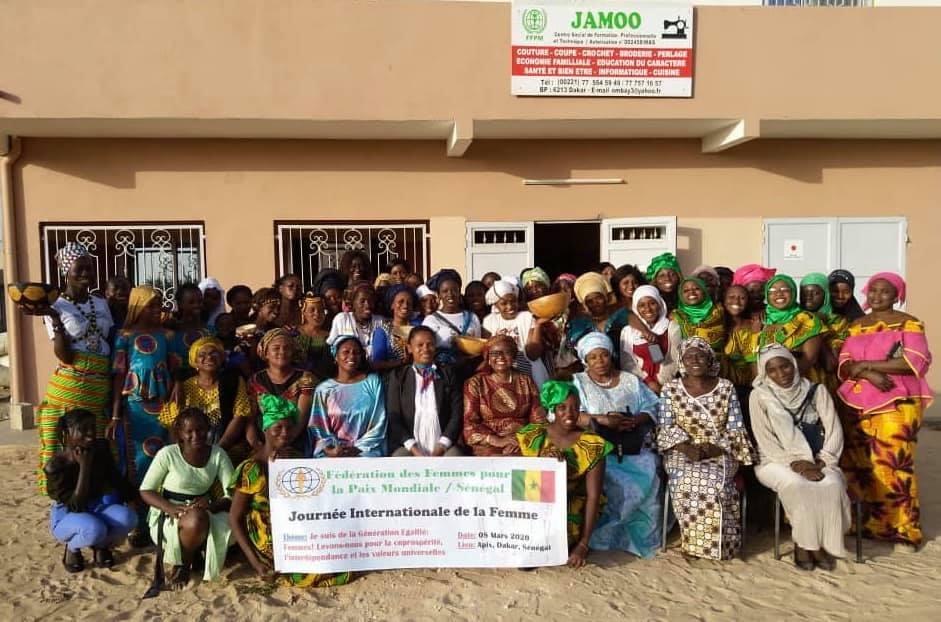 世界平和女性連合WFWPアフリカセネガル国際女性デー