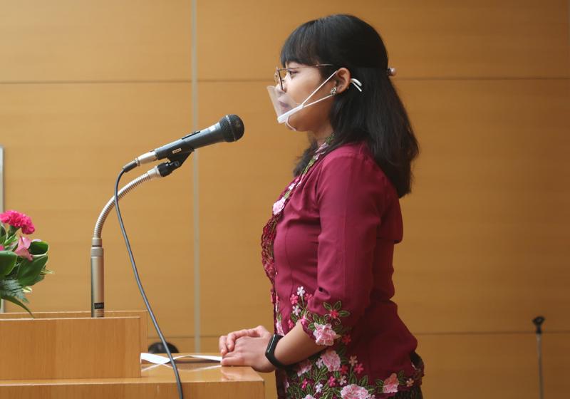 WFWP女子留学生日本語弁論大会2020静岡県大会