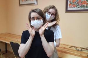 世界平和女性連合(WFWP)ウクライナマスク支援②
