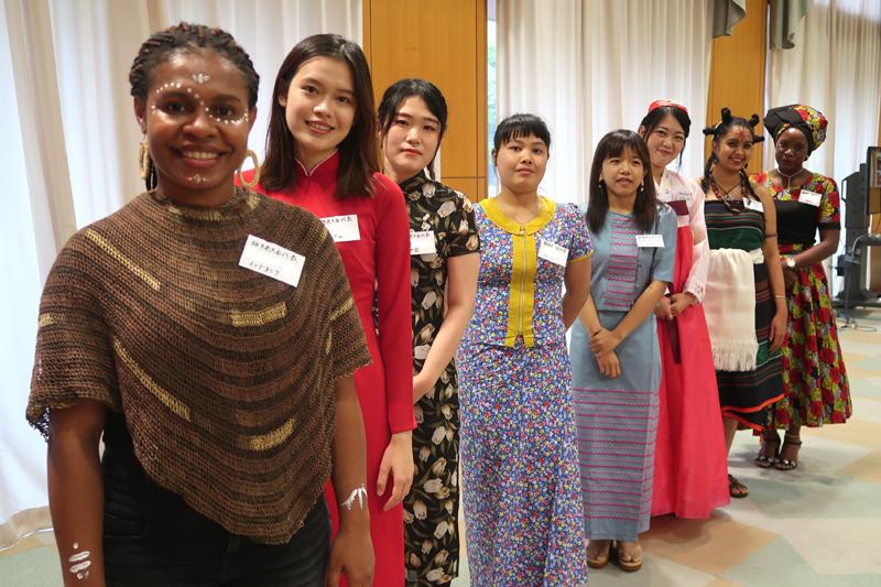 世界平和女性連合WFWP女子留学生日本語弁論大会2020出場した留学生