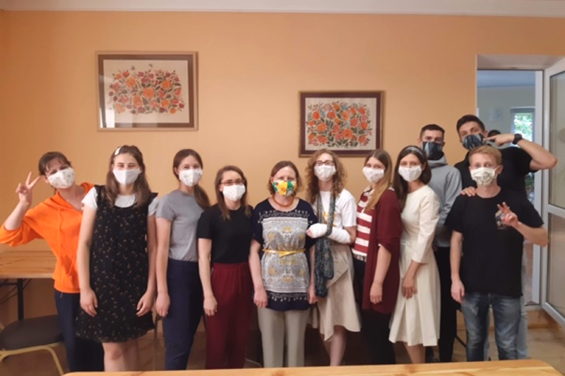 世界平和女性連合(WFWP)ウクライナマスク支援③