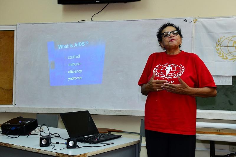 世界平和女性連合WFWPトリニダード・トバゴでの支援活動