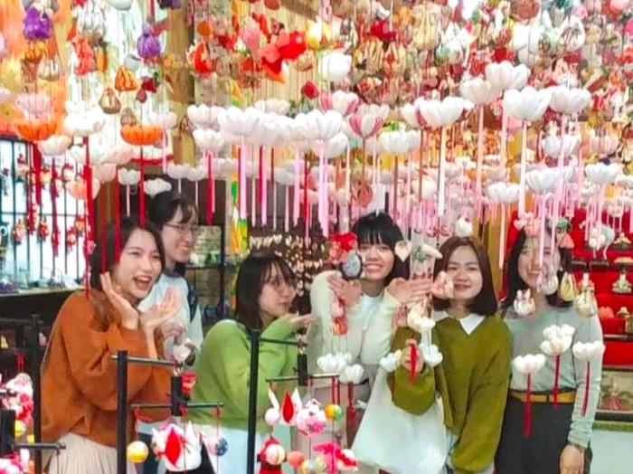 伊豆の国市を留学生と共に観光