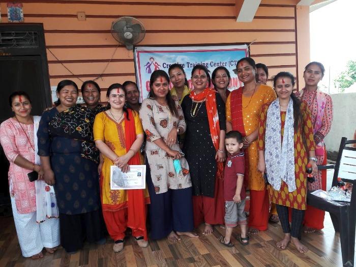 WFWPネパール職業訓練校卒業式②