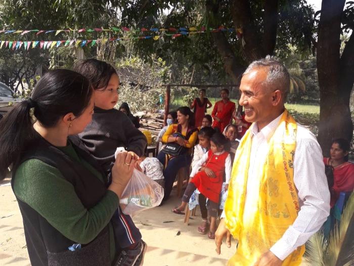 WFWPネパール物資支援③