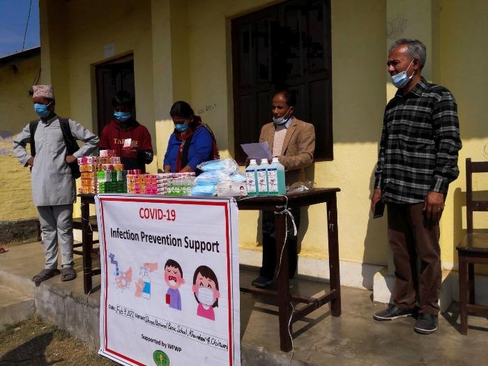 WFWPネパール物資支援①