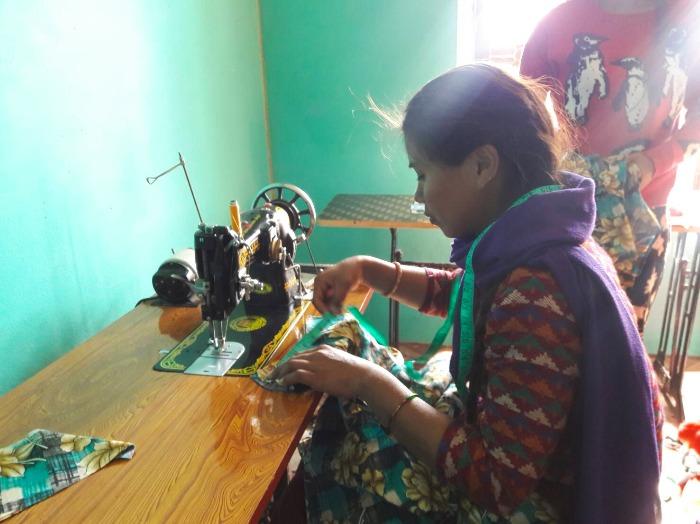 WFWPネパール職業訓練校①