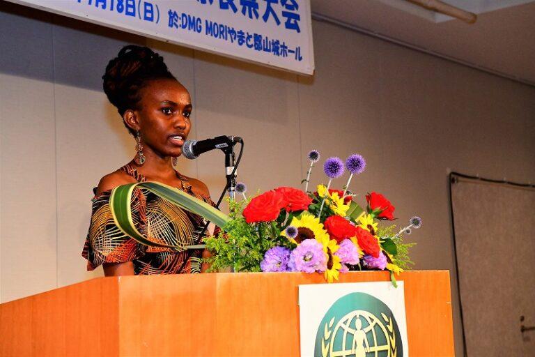 WFWP女子留学生日本語弁論大会奈良県大会