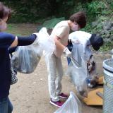 世界平和女性連合WFWP丸亀城清掃活動