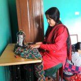 ネパール洋裁教室の写真